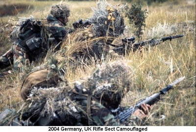 2004 Germany UK Rifle Sect Camofllauged