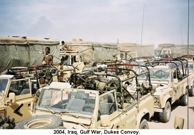 2004 Iraq War Dukes Convoy