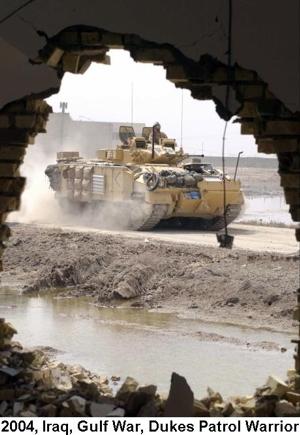 2004 Iraq War Dukes Patrol Warrior