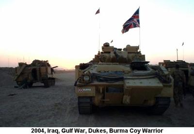 2004 Iraq War Dukes Warrior APC