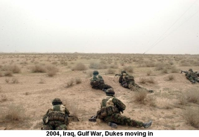 2004 Iraq War Dukes moving in