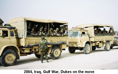 2004 Iraq War Dukes on the move