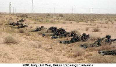 2004 Iraq War Dukes ready to go