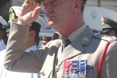 2004-09-09 Maj Gen Sir Evelyn Webb-Carter Italy Anzio Plaque Presentation Ceremony