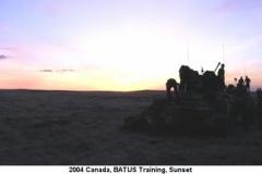 2004 Canada BATUS Sunset