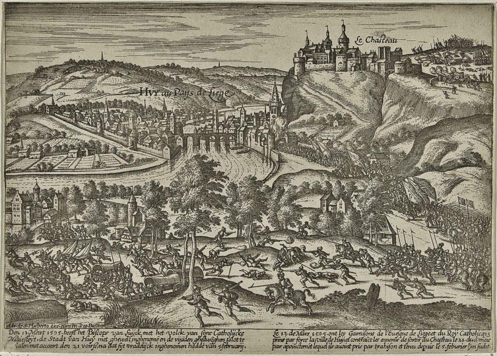 Seige of Huy 1703