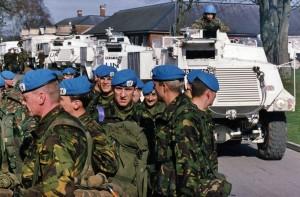 1994-03-10 UK Bulford 1DWR Enroute to Bosnia