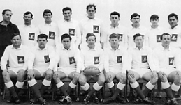 1DWR Team 1967 Captained by Capt Reid Winners of the Army Cup Score = 1DWR (14) - 7RHA (3)