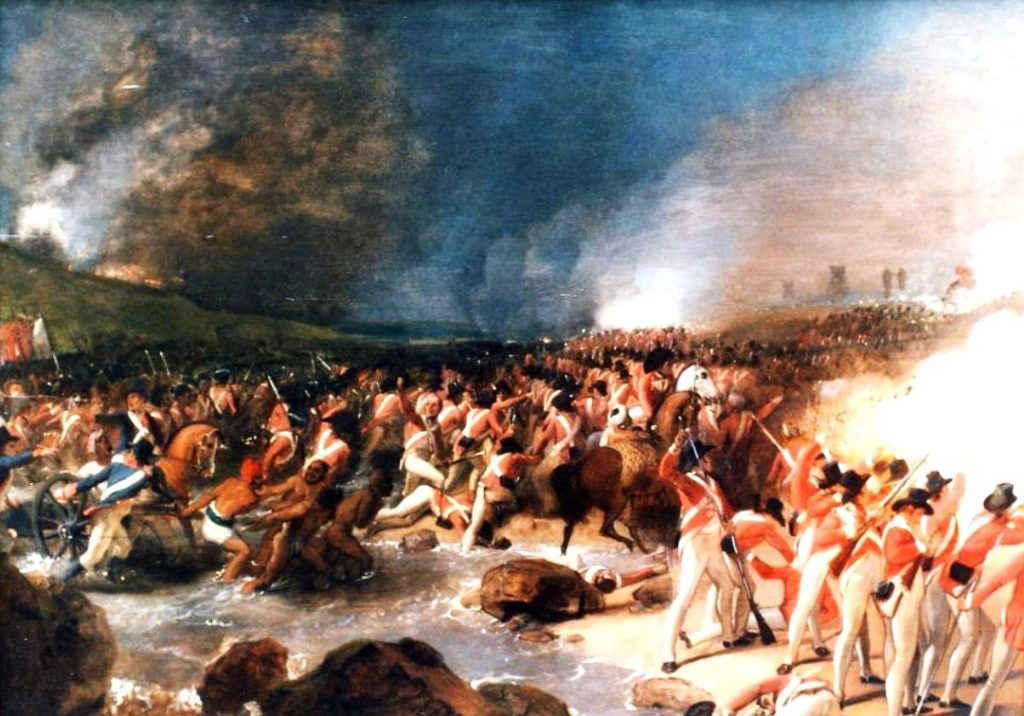 33rd Foot Storming of Seringapatam