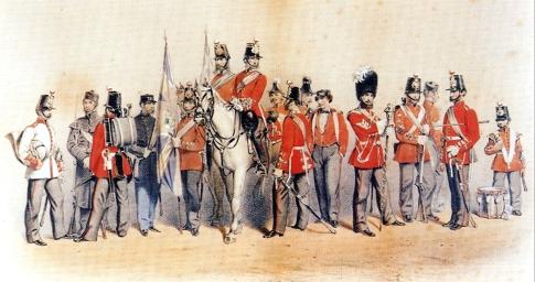 76th Uniforms 1856-1867