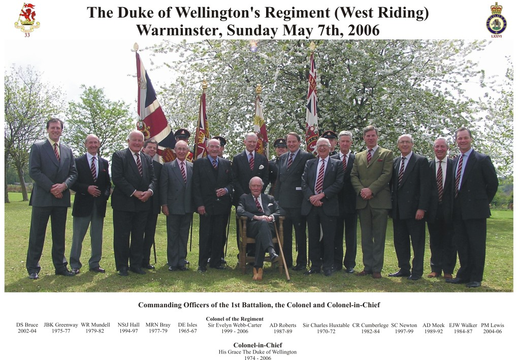 DWR Commanding Officers - 2006