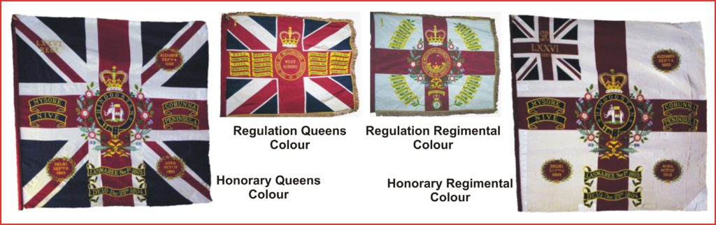 DWR Regimental Colours