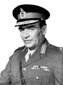 Maj Gen DE Isles OBE 1975