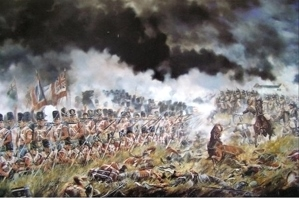 The 33rd at the Battle of Waterloo