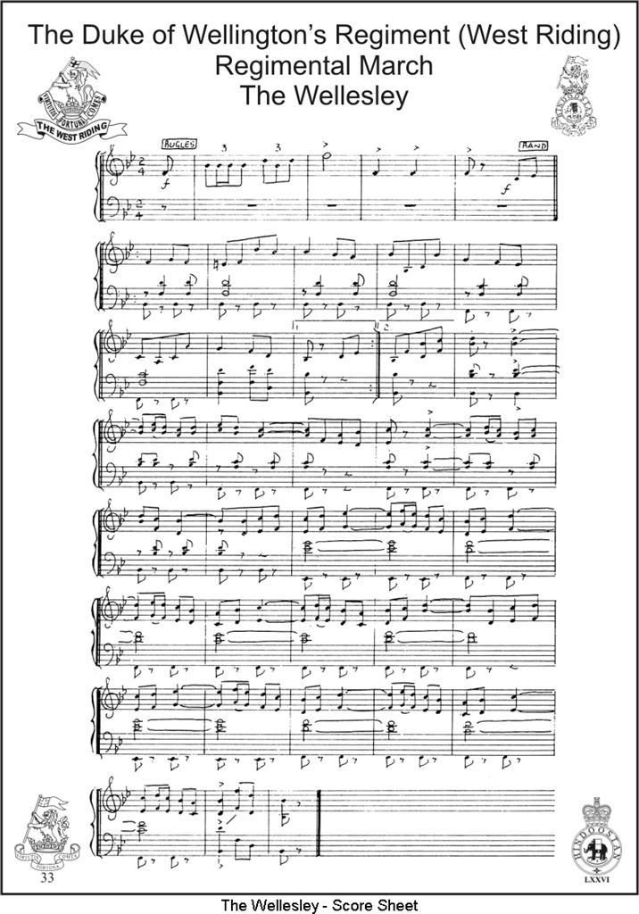 The Wellesley - Sheet Music
