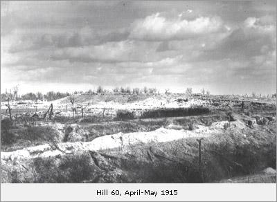Hill 60 April-May 1915